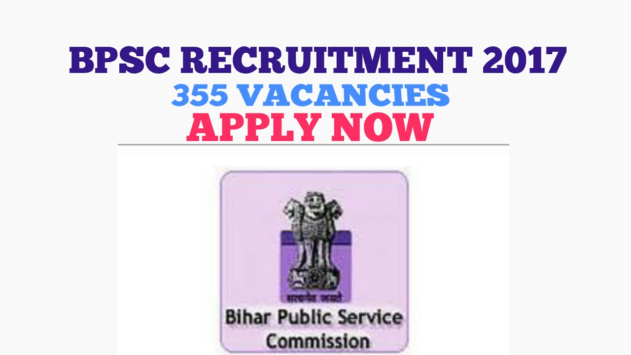 BPSC Pre 63- 2017 Recruitment