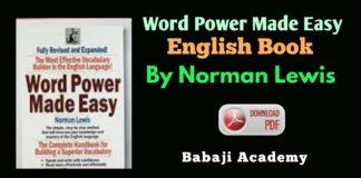 Word power made easy english book pdf