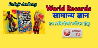 World Record 2018